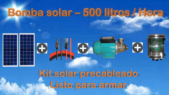 Kit bomba solar superficie