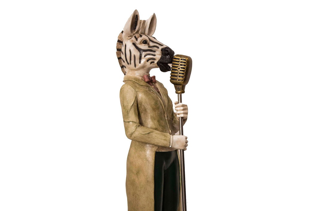 The Zebra Designer Figurine