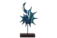 Load image into Gallery viewer, Abstract Showpiece - Marble Blue
