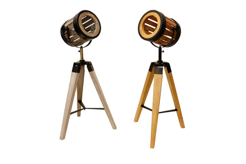 Wooden Studio Lamp