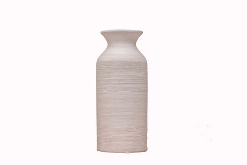 Big Ceramic Round Bottle Vase