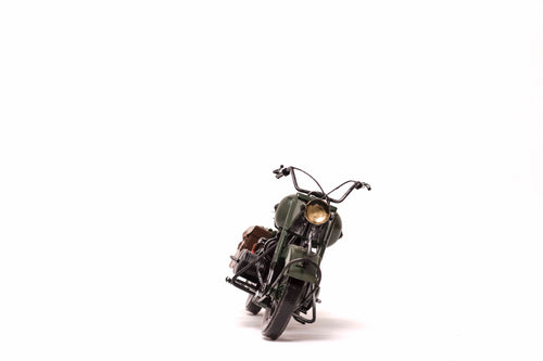 Vintage Chopper Bike Miniature