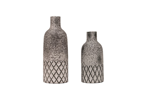 Terrecota Bottle Decor - Set Of 2