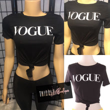 Load image into Gallery viewer, Vogue Tee