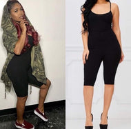 Bodied Knee Jumpsuit (Multiple Colors)