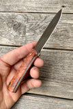 **SALE** Survival Scout Knife -- African Paduk - Redroot Blades | Portland, Oregon