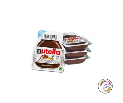 Nutella barquettes 15g - Candy Paradise
