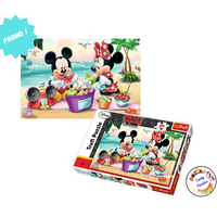 Maxi Puzzle Mickey et Minnie - Candy Paradise