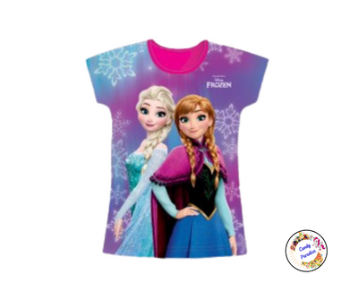 T-Shirt La Reine Des Neiges - Candy Paradise