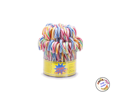 Candy canes multicolores - Candy Paradise