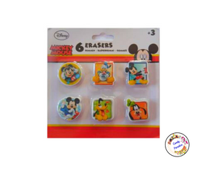 Lot de 6 gommes Mickey - Candy Paradise