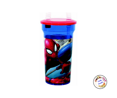 Verre paille Spiderman - Candy Paradise