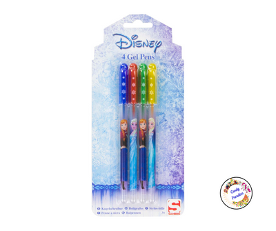Lot de 4 Stylos gel La Reine Des Neiges - Candy Paradise