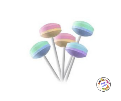 6 Sucettes Lollies - Candy Paradise