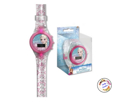 Montre digitale La Reine Des Neiges avec led - Candy Paradise