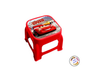 Tabouret/marche pied Cars rouge - Candy Paradise