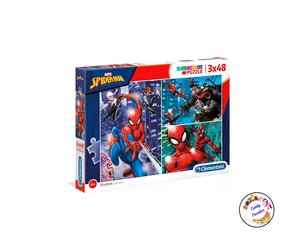 Puzzle Spiderman - Candy Paradise