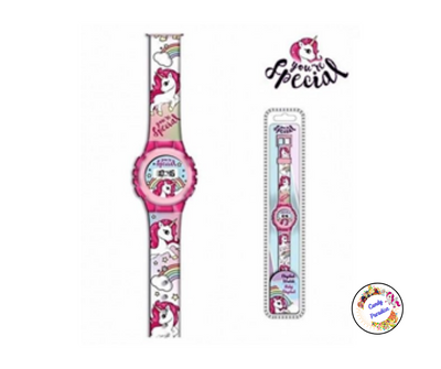 Montre digitale Licorne - Candy Paradise