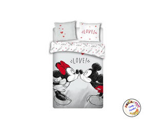Parure de lit 2 pers. Mickey & Minnie 2 - Candy Paradise