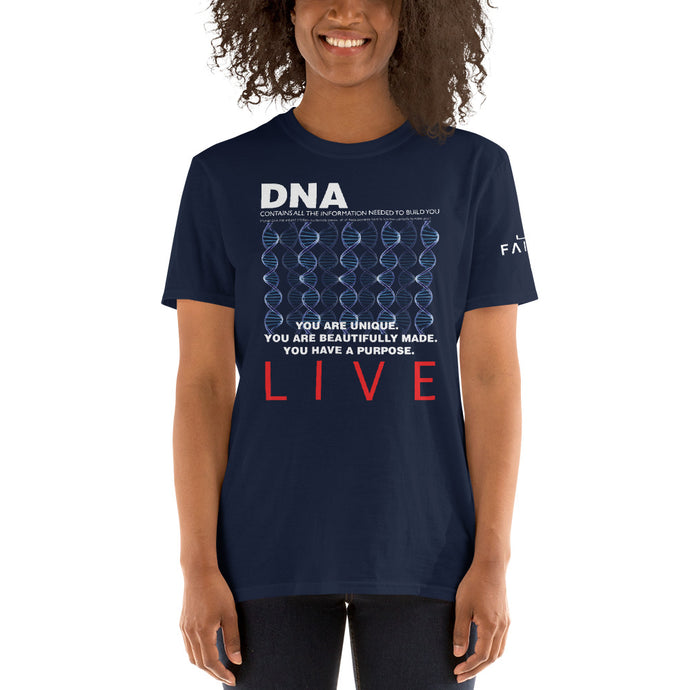 DNA- Contains information needed to build you Christian Faith Tee T Shirt
