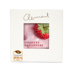 Clement Mini Carré – Erdbeer Mascarpone