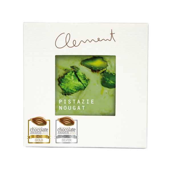 Clement Mini Carré – Pistazie-Nougat