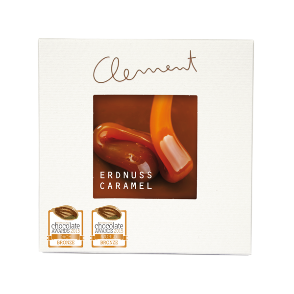 Clement Mini Carré – Erdnuss Caramel