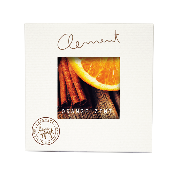 Clement Mini Carré – Orange Zimt