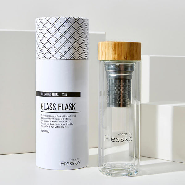 Insulated Glass Infusion Flask - Fressko