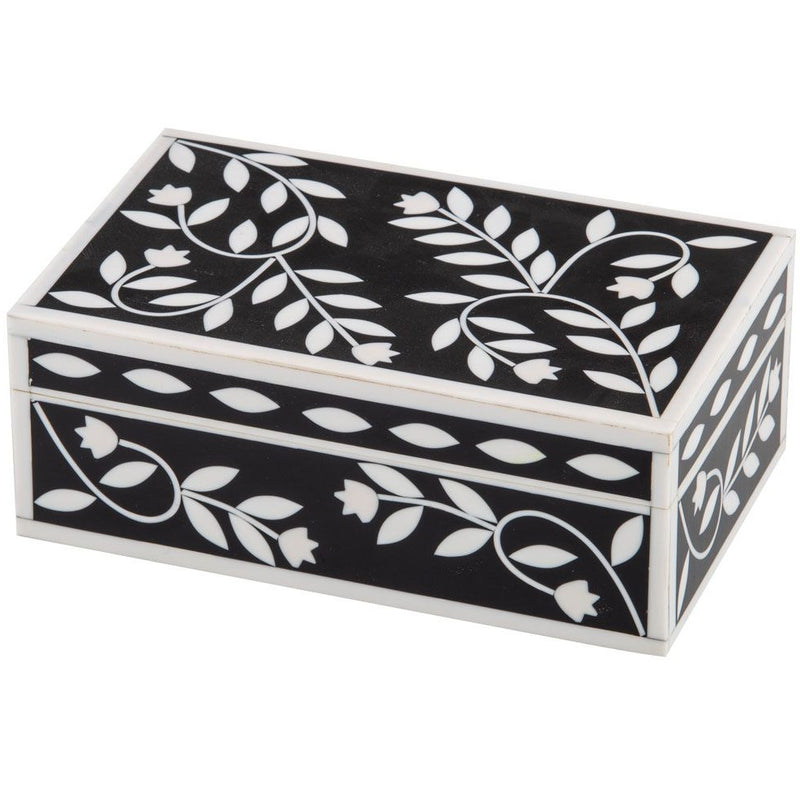 Inlaid Deco Box Small