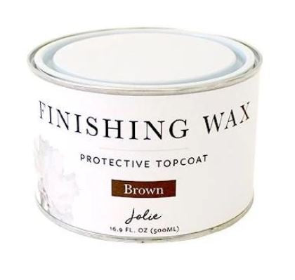 Jolie Finishing Wax BROWN