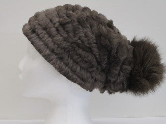 COMING SOON:  15% off - Lapin Beanie with Fox Fur Pom Pom