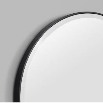 Oval Mirror - Black - PREORDER