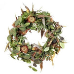 Christmas Wreath: Protea & Eucalypt
