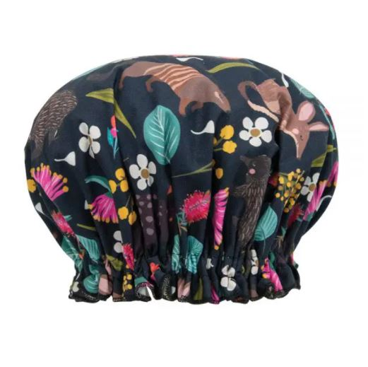 Shower Cap - Nocturnal Animals
