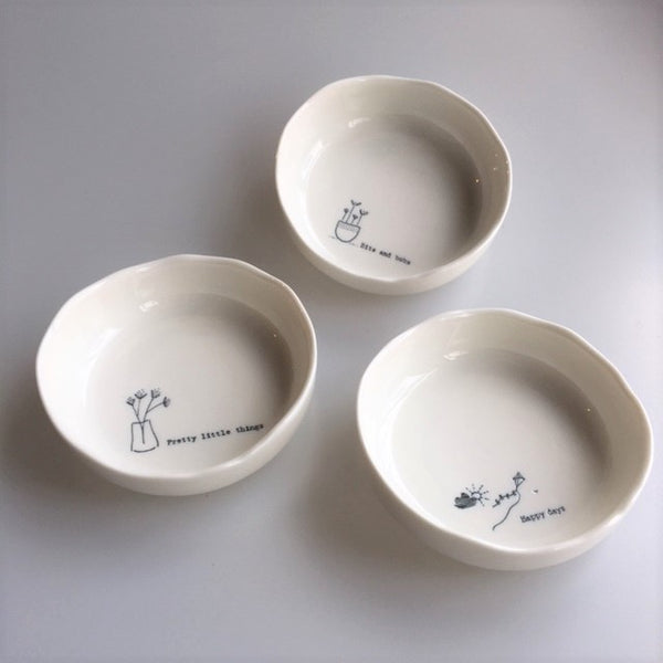 Trinket Dish - Happy Days / Bits and Bobs / Pretty Little Things