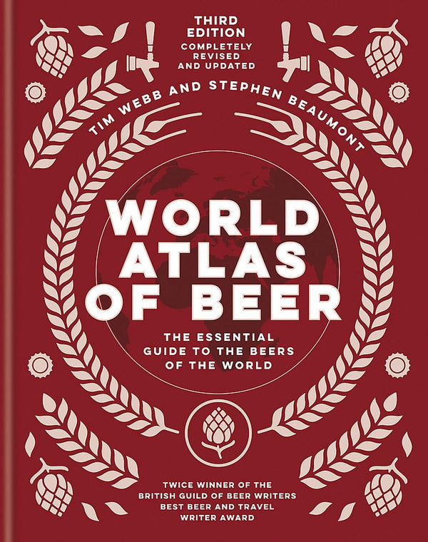 Book - World Atlas of Beer - 3rd Edition - Tim Webb & Stephen Beaumont