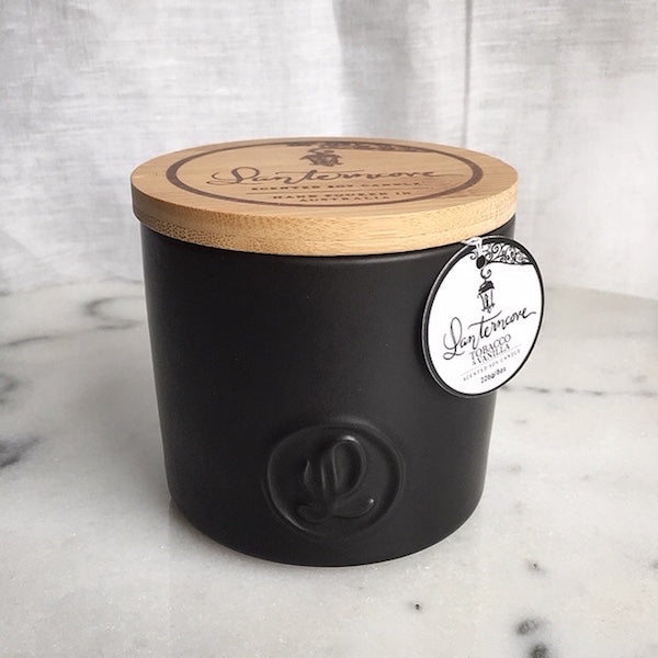 Tobacco and Vanilla Soy Wax Candle