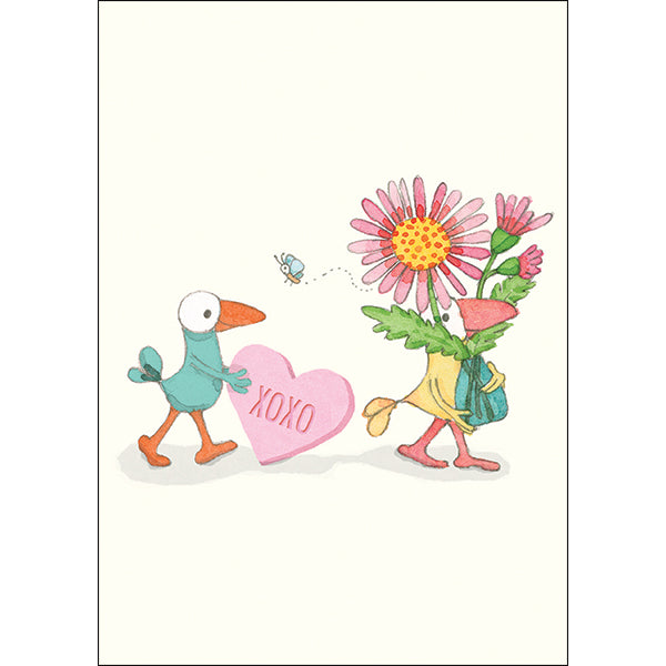 Card mini: XO- by Twig seed