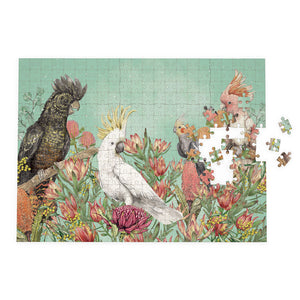 Puzzle:  1000 piece puzzle cockatoos of australia SOLD OUT