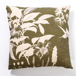 Night Garden Green Cushion