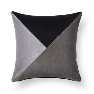 Velvet Cushion - Geo Paloma