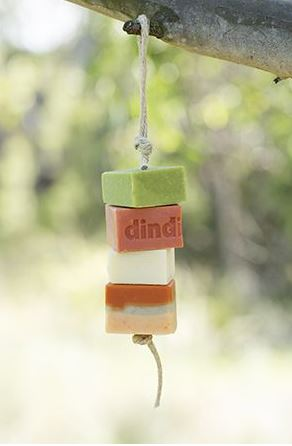Dindi Soap on a Rope