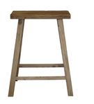 Recycled Elm Bar Stool