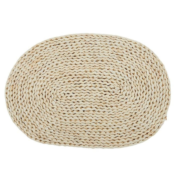 Oval Braided Sea Grass Placemat.