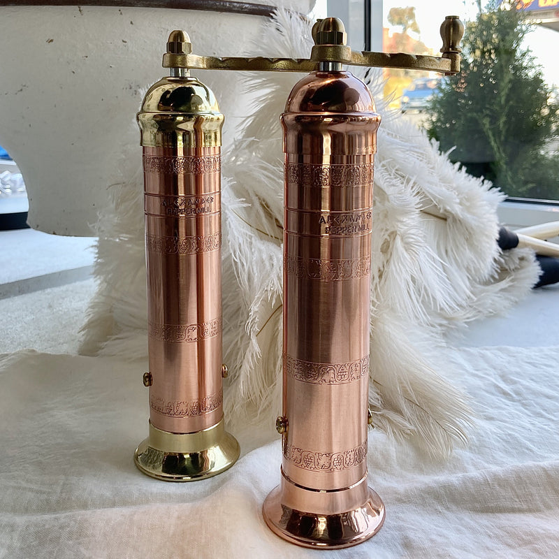 Pepper Mill - Copper or Copper & Brass