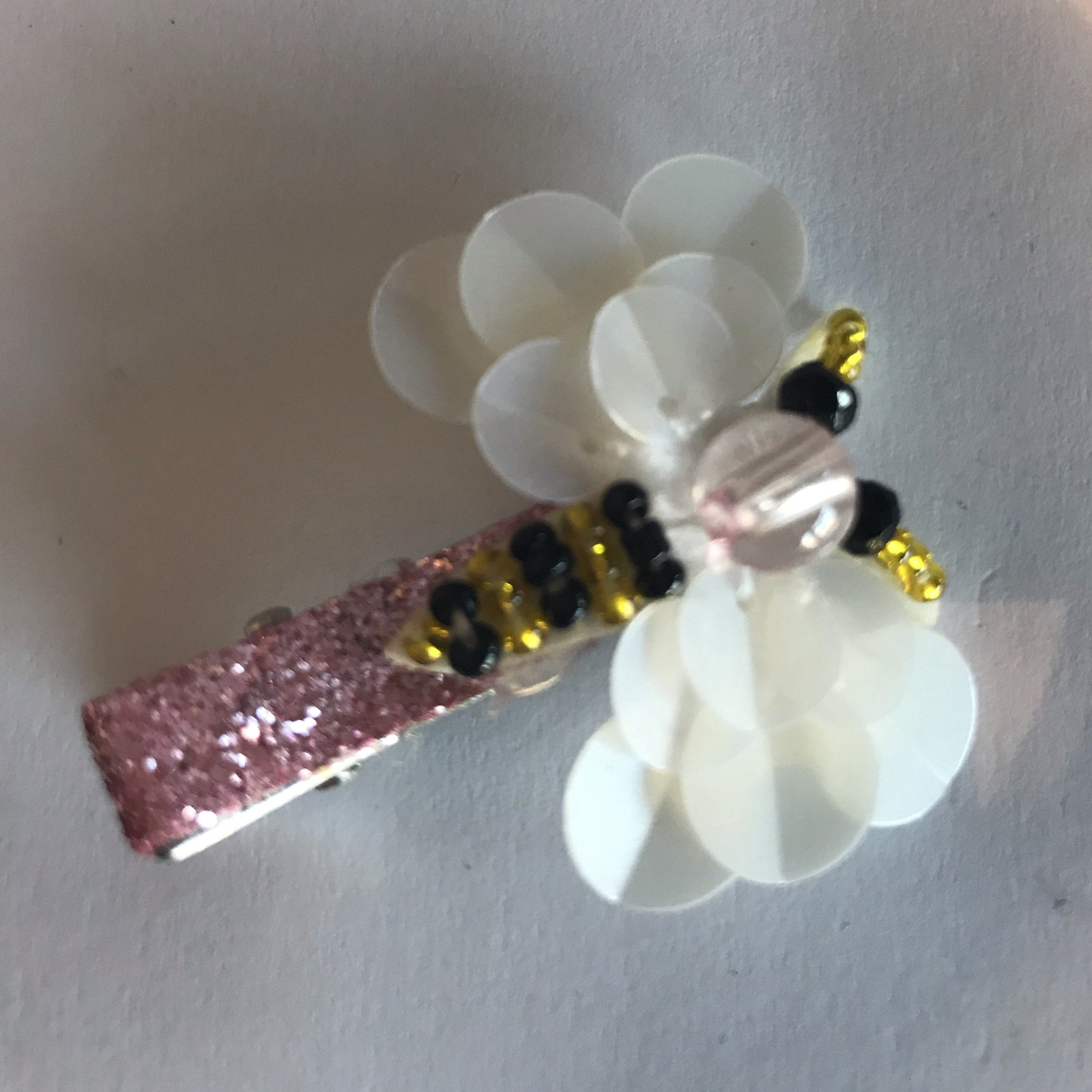Hair Clip - Sparkly Bees