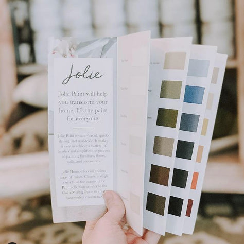Jolie Paint Colour Card