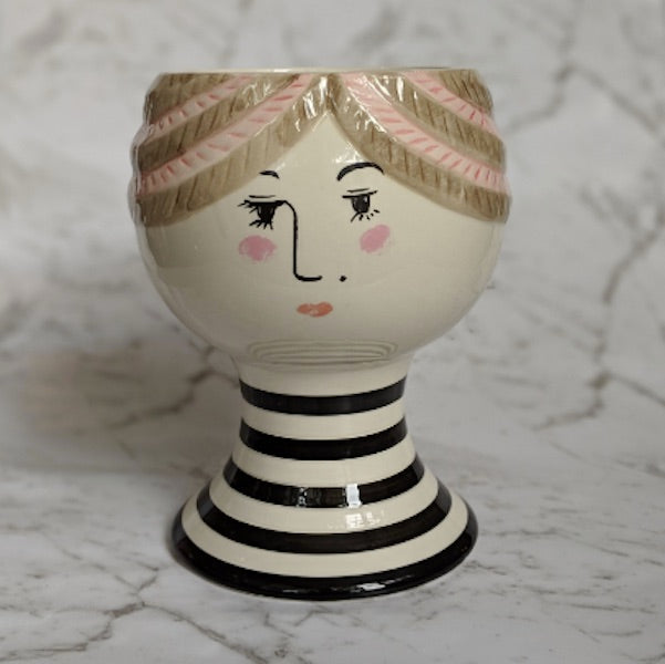 Pixie Face Pot