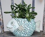 Blue Fish Pot SOLD OUT BACK SOON
